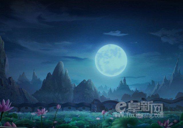 赞美月亮的现代诗歌